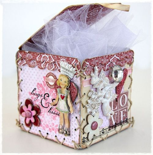 Lace up gift box1
