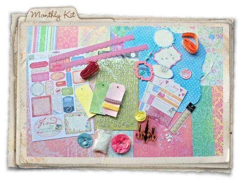 MF blog - shabby chic memories kit