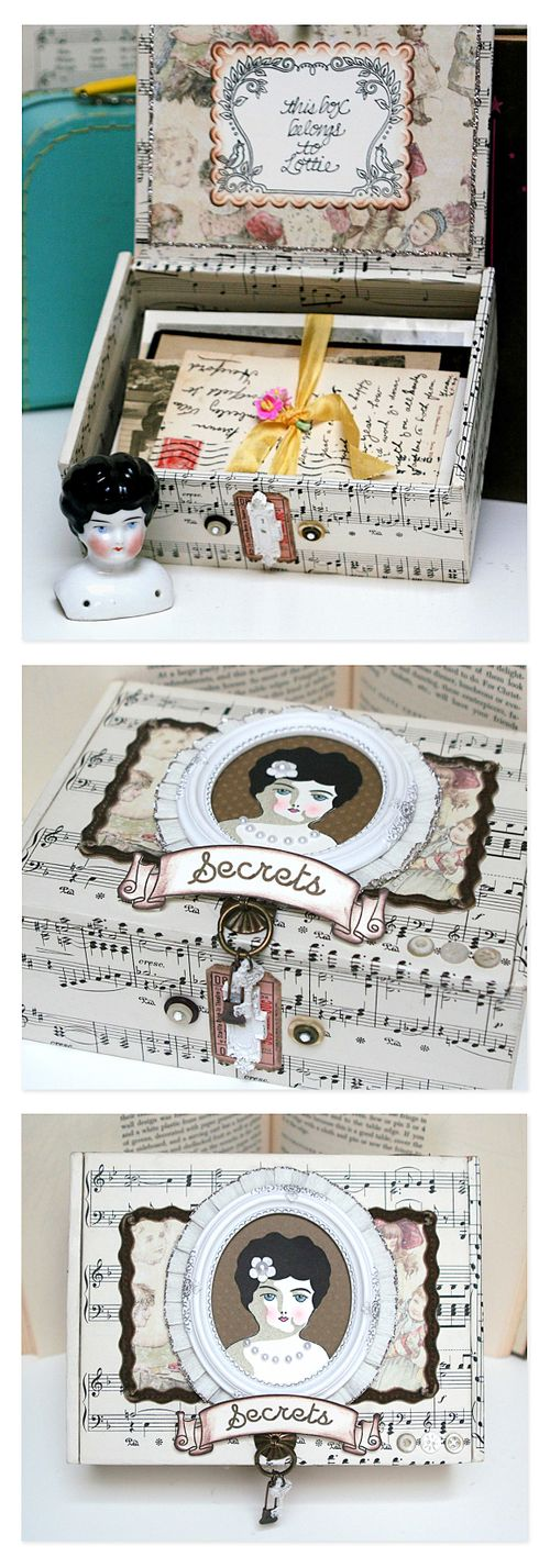 Secrets treasure box