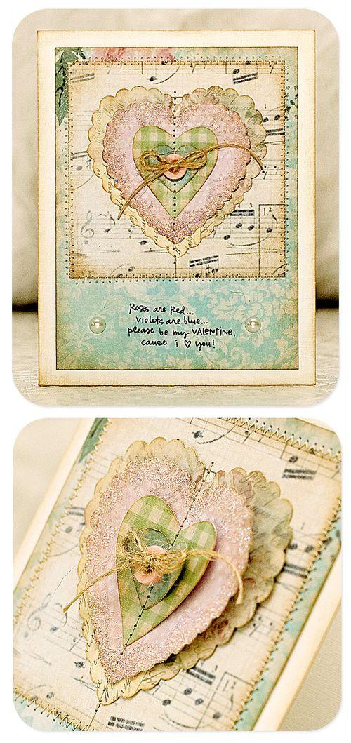 Valentine card johanna
