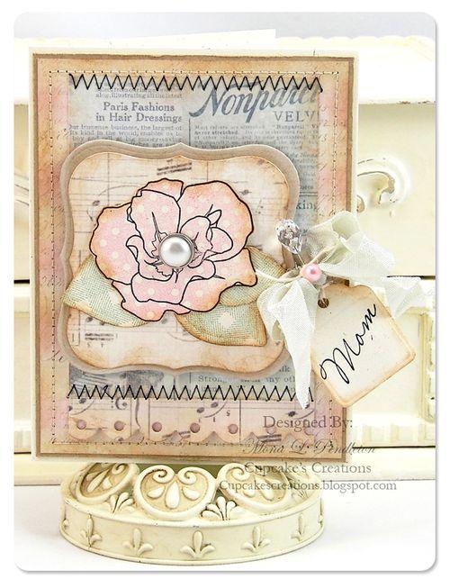 Card - Mona