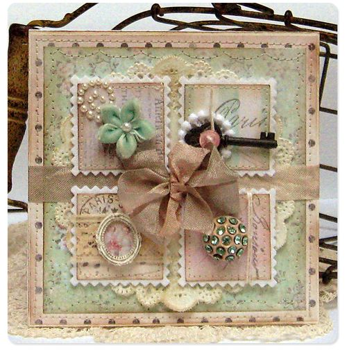 Card - shabby chic1