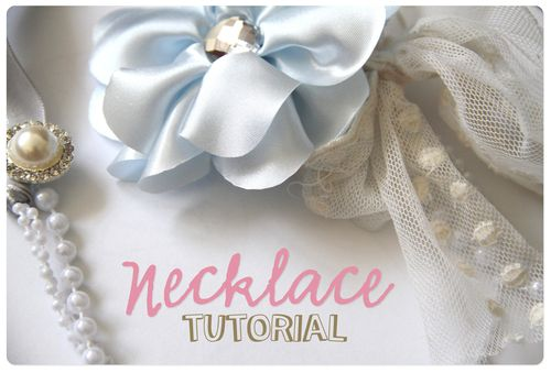 Necklace tutorial