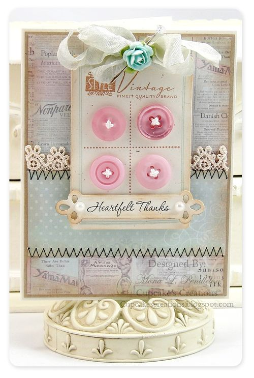 Blog - Mona button card