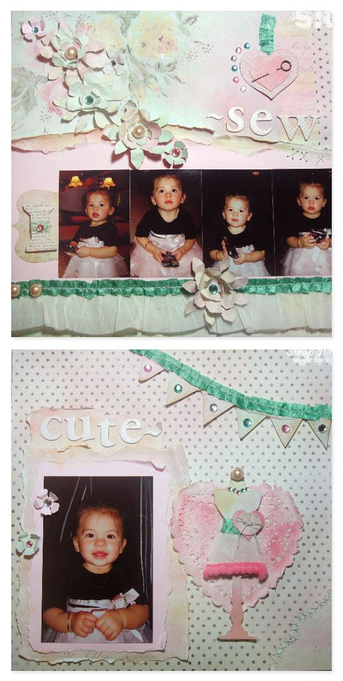 Layout - Sew Cute