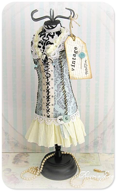 Fabienne dress form