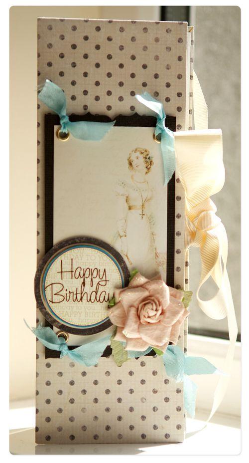 Happy birthday card michelle