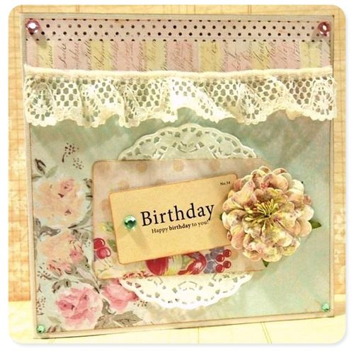 Happy birthday card sabrina