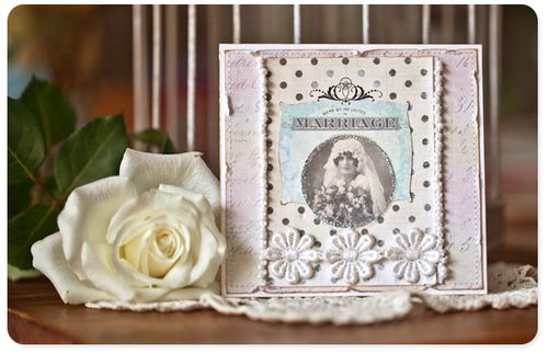 Marriage card by Evgenia