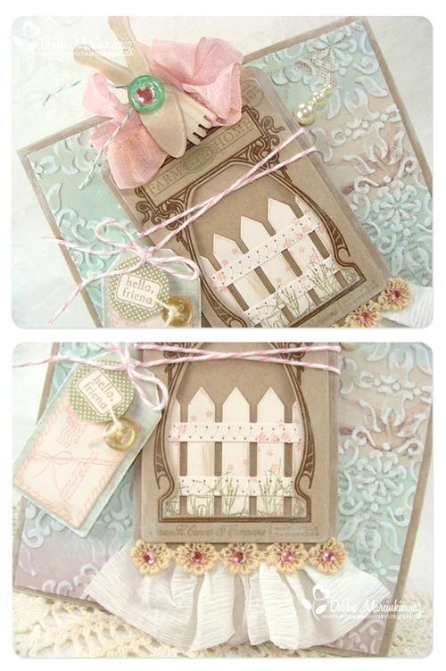 Picket fence card detail