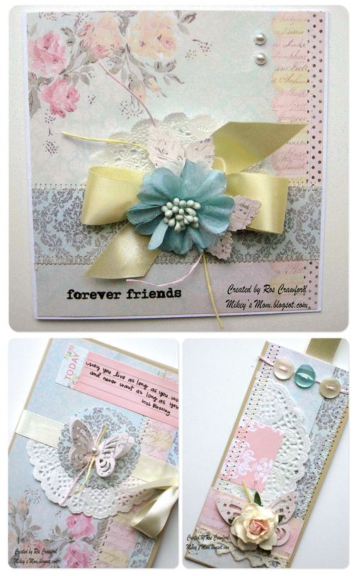 Set of 3 cards individual looks