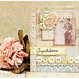 Congrats wedding card