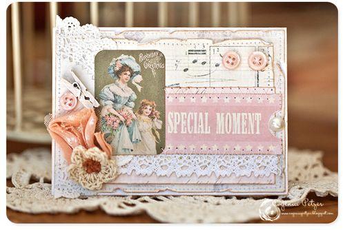 Birthday Greeting card evgenia