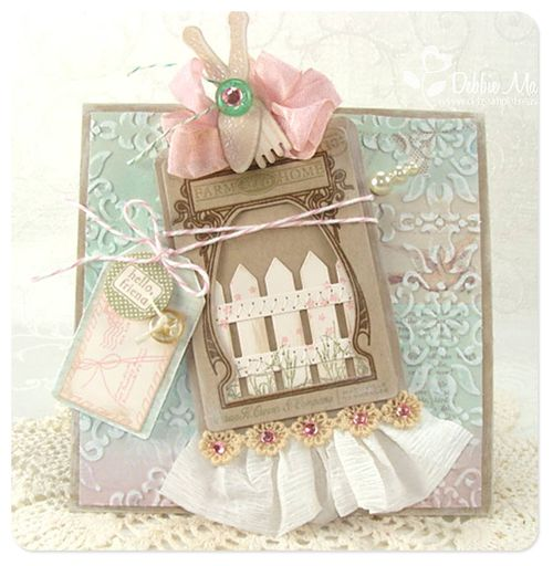 Picket fence card