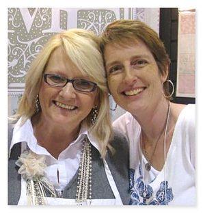 Karin and Melissa