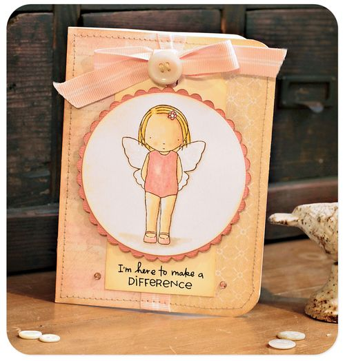 Card - I'm here to make a difference MF blog