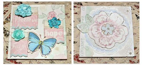Thankful collection cards