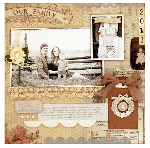 Layout - our family