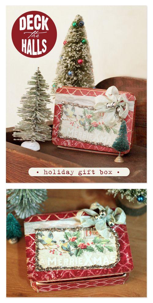 Deck the Halls gift box