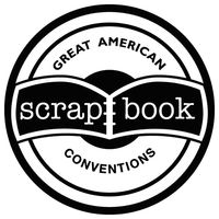 Great american scrapbooking show logo