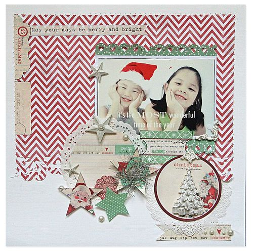 Countdown to christmas emeline layout