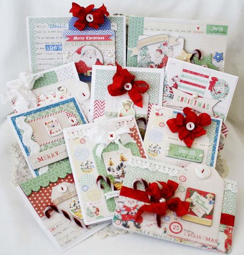 Melissa Phillips Christmas card kit