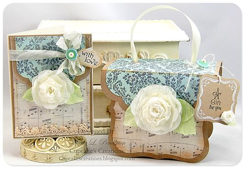 With Love notecard and giftbox
