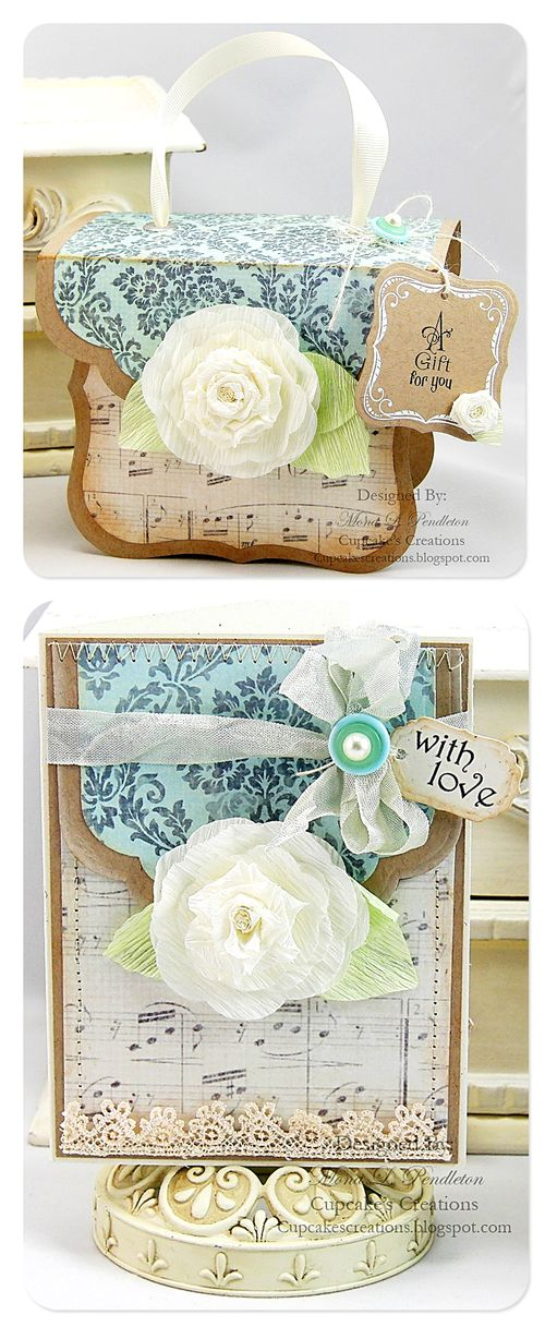 With Love notecard and gift box