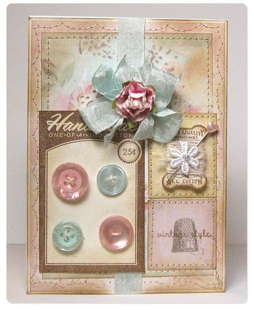 Card - shabby chic2