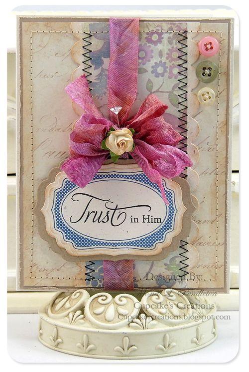 Card - trust in him