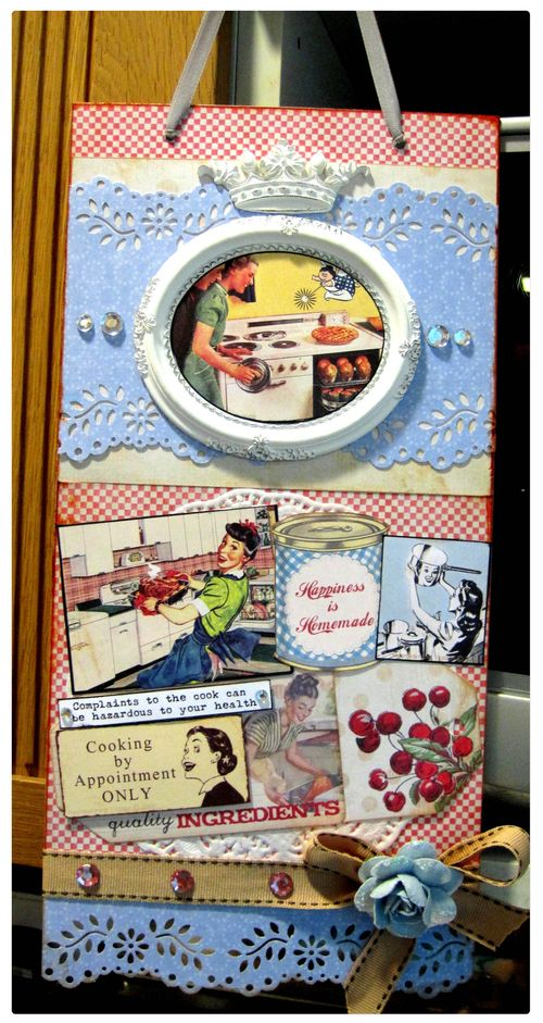 Kitschy Kitchen Wall hanging